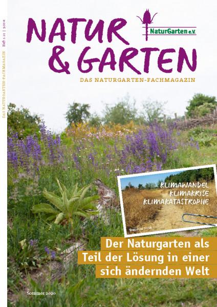 Natur&Garten 1/2021 Klimawandel, Klimakrise, Klimakatastrophe