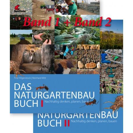 Das Naturgarten-Baubuch 1 + 2