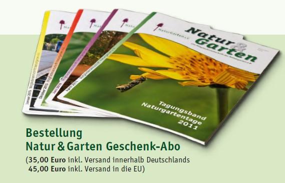 Natur & Garten Geschenkabo (EU)