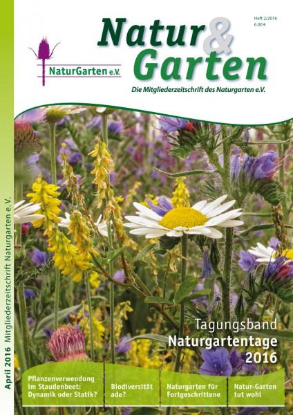Natur&Garten 2/2016 – Tagungsband Naturgartentage 2016
