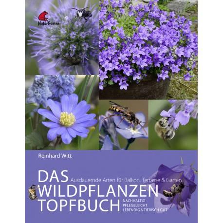 Das Wildpflanzen Topfbuch - Ausdauernde Arten für Balkon, Terrasse und Garten. Lebendig, nachhaltig