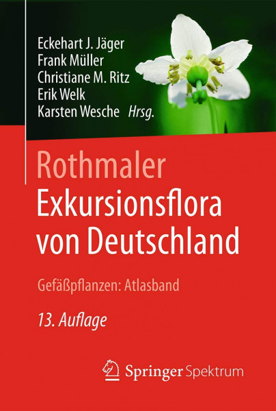 Rothmaler - Exkursionsflora von Deutschland, Gefäßpflanzen: Atlasband