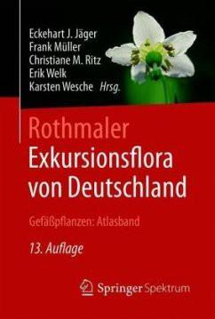 Exkursionsflora von Deutschland, Gefäßpflanzen: Atlasband, 13. Auflage
