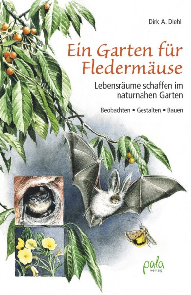 Ein Garten für Fledermäuse - Lebensräume schaffen im naturnahen Garten