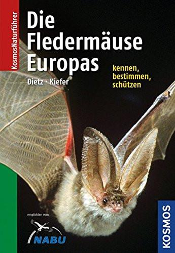 Naturführer - Die Fledermäuse Europas - Alle Arten erkennen und sicher bestimmen