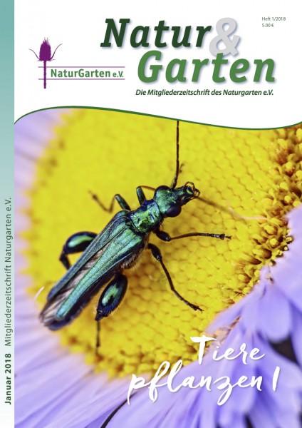 Natur&Garten 1/2018 - Themenheft: Tiere pflanzen I